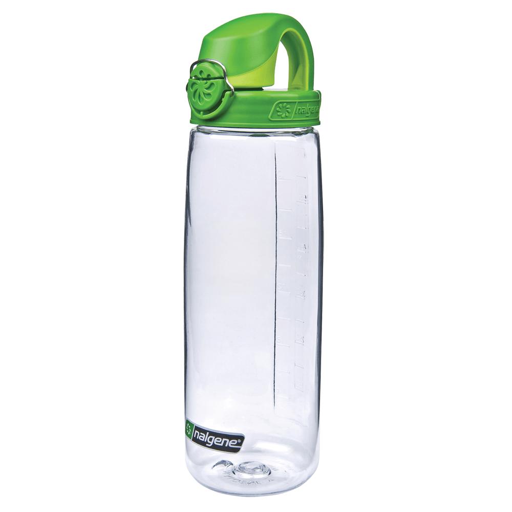 Fľaše Nalgene OTF Clear/Sprout Green Cap