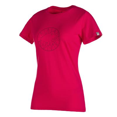 Trička Mammut Mammut Logo T-Shirt Women magenta-merlot