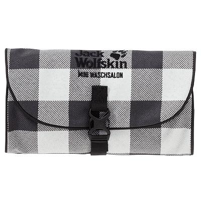 Tašky a batohy Jack Wolfskin Mini Waschsalon grey lumber check 7964