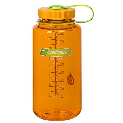 Sportovní lahve Nalgene Wide Mouth 1000 ml Clementine