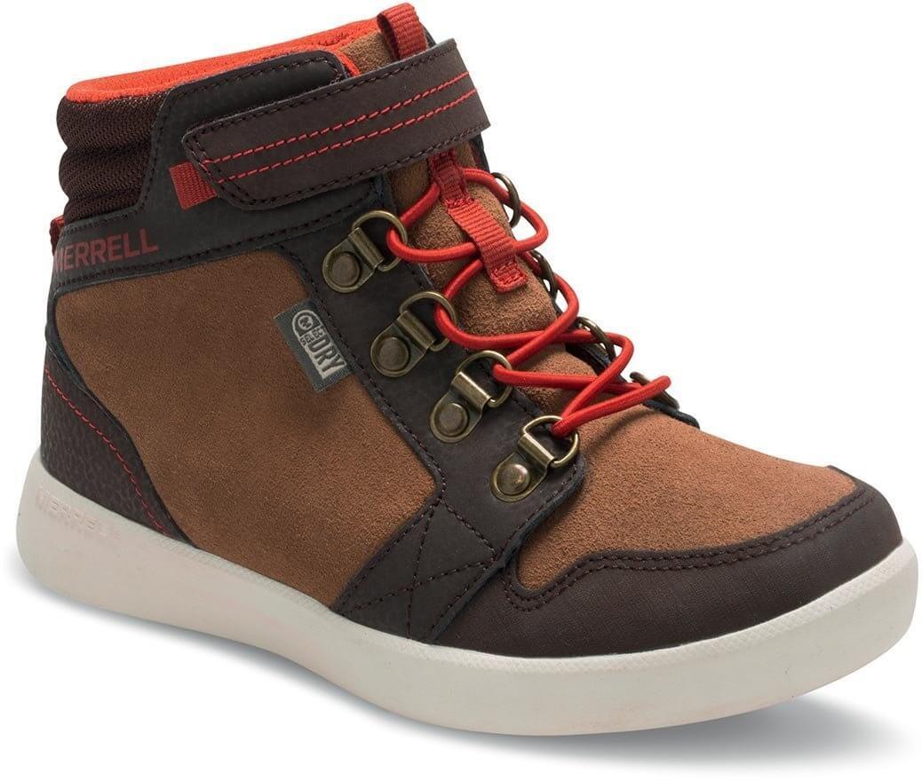 Merrell Freewheel Mid WTPF - detské vychádzkové topánky  3d3434ac2d1
