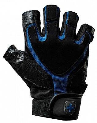 Fitness vybavení Harbinger Fitness rukavice Training Grip 1260 černo-modré