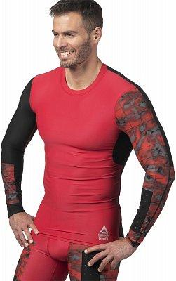 Pánské sportovní tričko Reebok Crossfit Compression Long Sleeve Tee