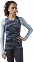 Reebok Obstacle Compression Long Sleeve Top