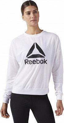 Dámska športová mikina Reebok Workout Ready Mesh Crew Neck