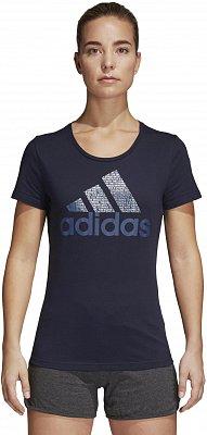 Dámské sportovní tričko adidas Foil Text Bos