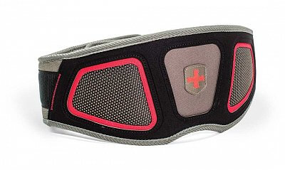Fitness vybavení Harbinger opasek Flexfit Contour 243 Red/Gray
