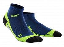 CEP Kotníkové ponožky dámské II oceánová modř / zelená