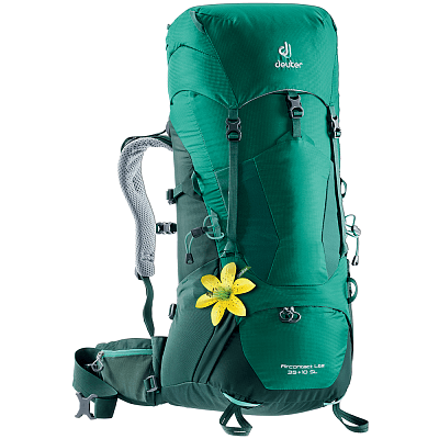 Tašky a batohy Deuter Aircontact Lite 35 + 10 SL alpinegreen-forest