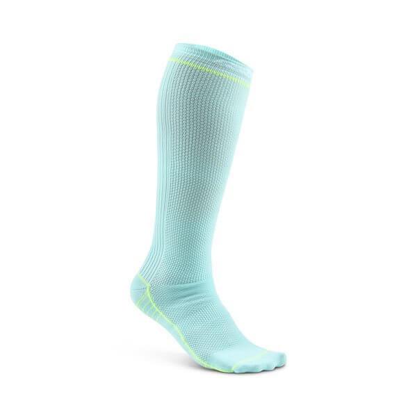 Craft Podkolenky Body Control světle zelená - ponožky  641cdb4ee3