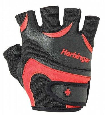 Fitness vybavení Harbinger Fitness rukavice Flexfit 138 červené