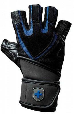 Fitness vybavení Harbinger fitness rukavice 1250 černo-modré