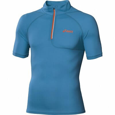 Trička Asics Mile SS 1/2 Zip Top