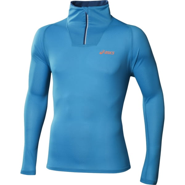 Trička Asics Mile LS 1/2 Zip Top