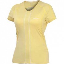 Craft W Triko ER V-neck dámské žlutá