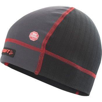 Čepice Craft Čepice Extreme WS černá s červenou