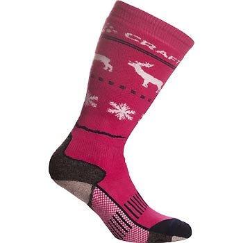 Ponožky Craft Podkolenky WARM SPECIFIC růžová