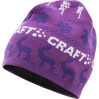Čepice Craft Čepice Inge fialová