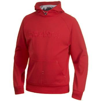 Mikiny Craft Mikina Flex Hood červená
