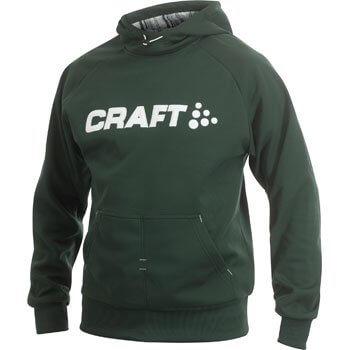 Mikiny Craft Mikina Flex Hood zelená