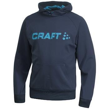 Mikiny Craft Mikina Flex Hood tmavě modrá