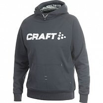 Craft W Mikina Flex Hood šedá