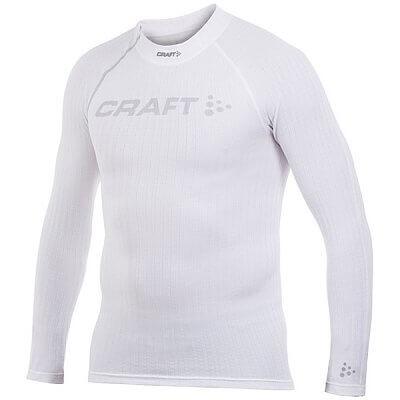 Trička Craft Triko Extreme Crewneck bílá s logem