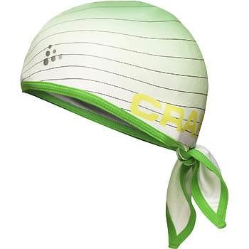 Čepice Craft Šátek Cool zelená potisk
