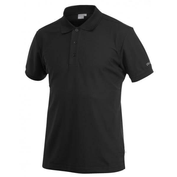 Trička Craft Triko Classic Polo Pique černá