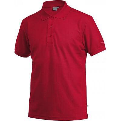 Craft Triko Classic Polo Pique červená