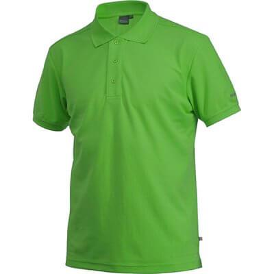 Trička Craft Triko Classic Polo Pique zelená