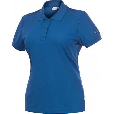Trička Craft W Triko Classic Polo Pique modrá