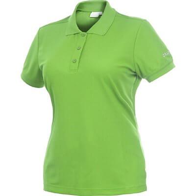 Trička Craft W Triko Classic Polo Pique zelená