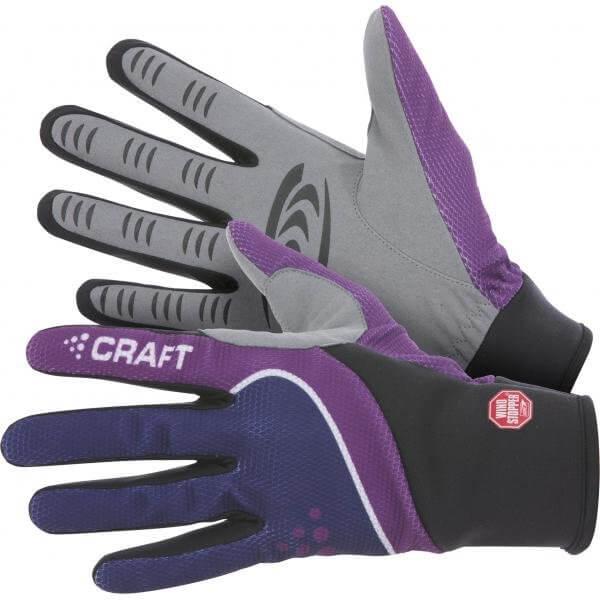 Rukavice Craft Rukavice Power WS černá s fialovou