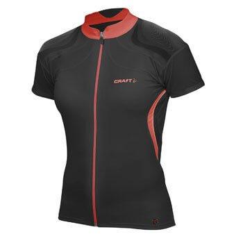 Trička Craft W Cyklodres EB Jersey černá