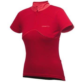 Trička Craft W Cyklodres AB Jersey červená