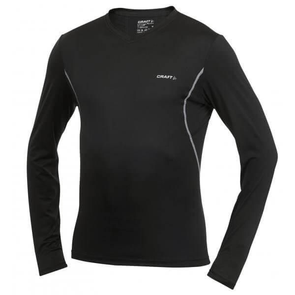 Trička Craft Triko Cool Long Sleeve černá