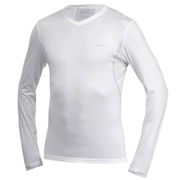 Trička Craft Triko Cool Long Sleeve bílá