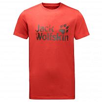 Jack Wolfskin Brand T Men volcano red 2001