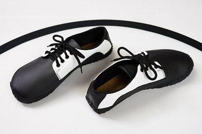 Unisexová barefoot obuv Ahinsa Sundara Bare Černobílá