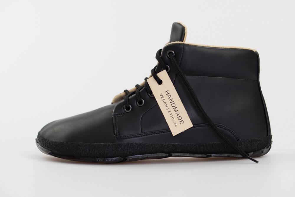 1da9183796 Ahinsa Sundara Bare Ankle Moto. Unisexová barefoot obuv
