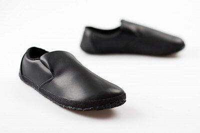 Unisexová barefoot obuv Ahinsa Sundara Bare Push Černá