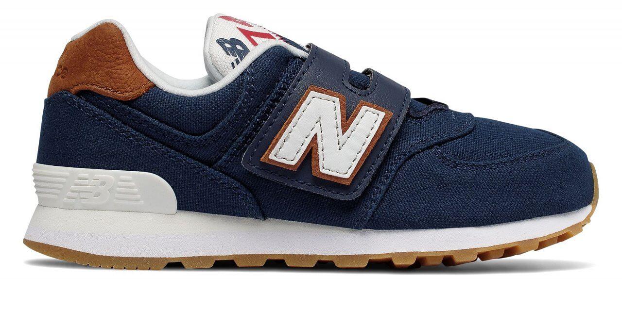 New Balance YV574T1. Dětská volnočasová obuv 9c29522e8b