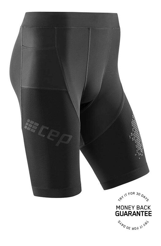 ab90e96cee15 CEP Bežecké šortky 3.0 pánske čierne - pánske kraťasy