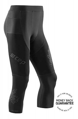 Kalhoty CEP 3/4 běžecké kalhoty 3.0 pánské černá
