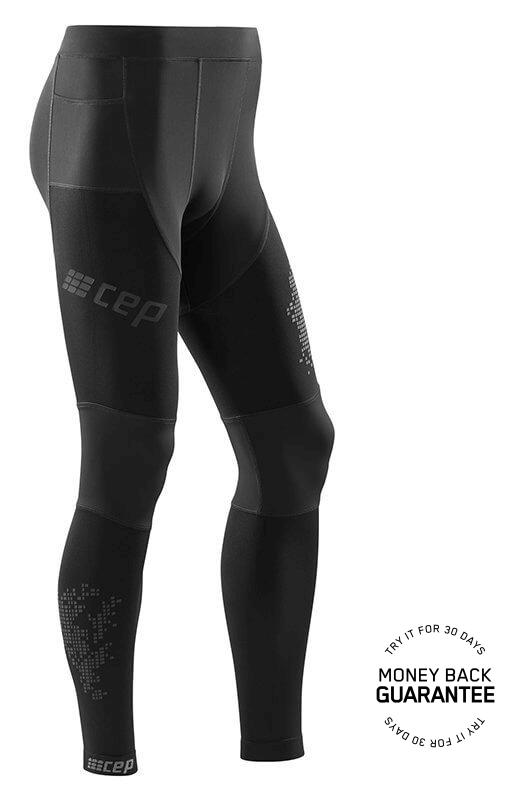 2d3540677964 CEP Bežecké nohavice 3.0 pánske čierna - pánske nohavice ...