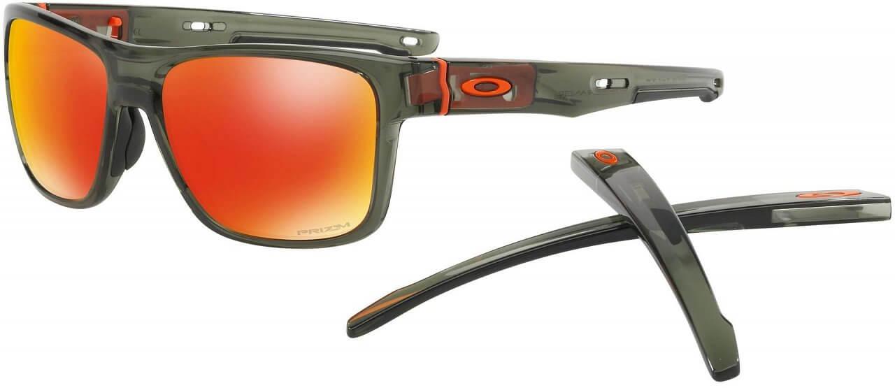 Sluneční brýle Oakley Crossrange Warning Camo Collection