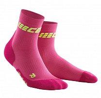 CEP Krátké ponožky ULTRALIGHT dámské růžová   zelená 6799cb4f55