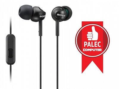 Klapková sluchátka Sony MDREX110AP černá