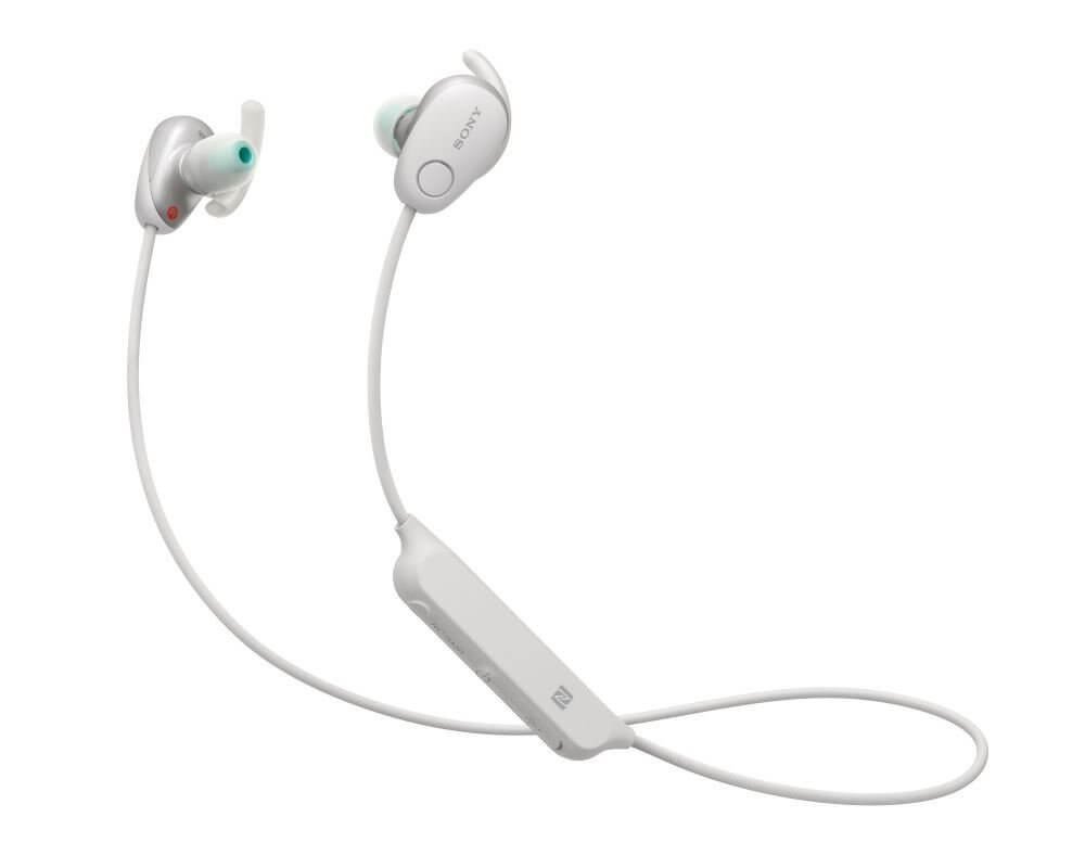 Sportovní Bluetooth sluchátka Sony WISP600 bílá